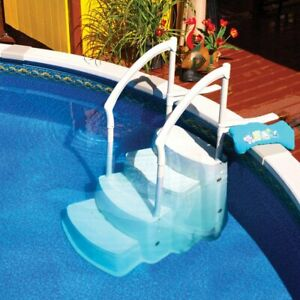 Driclad Above Ground Pool Steps - Festiva style