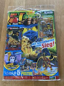 LEGO Ninjago Serie 6 - Magazin 5! Five Nr. 01/2021 mit LE22 Team Shintaro