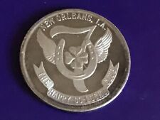 .999 Fine Silver Round Madi Gras 1968 The Joy Luck Club SCARCE