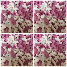 Flamingo Pink White Bird Edible Cake Cupcake Toppers Decorations Sprinkles 25g