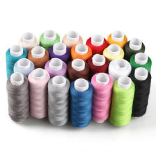 24 Colors Roll Polyester Sewing Thread Box Kit Set For Home DIY Sewing Machine