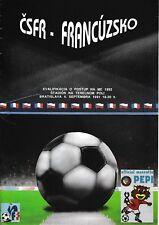 Czech Republic v France 1991/2 (4 Sep) European Championship