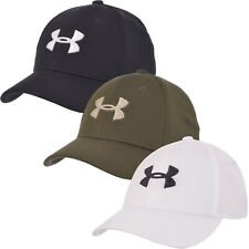 Under Armour Boys Blitzing II Stretch Fit Sports Gym Training Baseball Cap Hat