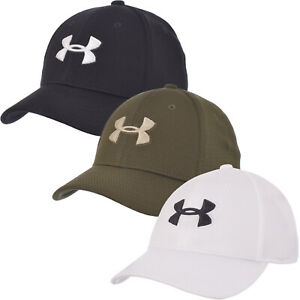Under Armour Boys Blitzing II Stretch Fit Sports Gym Training Baseball Cap Hat