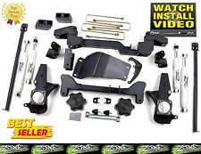 "01-2010 Chevrolet GMC 2500HD 3500HD 6"" Full Suspension Lift Kit Zone Offroad C4"