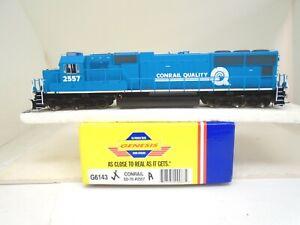Athearn Genesis Ho G6143 SD-70 locomotive, Conrail 2557, no lights