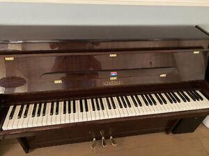 Klavier Schimmel Mahagoni 102