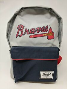​Unisex Herschel Supply Co. MLB Outfield Atlanta Braves Backpack, Size OS - Grey