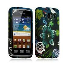 Housse coque étui gel pour Samsung Galaxy XCOVER S5690 motif HF09 + Film protect