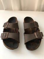 **Birkenstock Kids Arizona Sandal, Little Kid's Size 2/EU 33 , Mocha