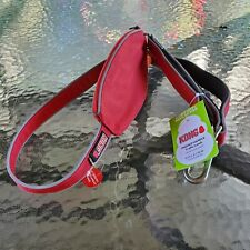 (New w/tags) KONG Padded Handle Dog Traffic Leash Red 4 Ft with accessory Pouch