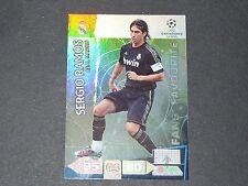 SERGIO RAMOS REAL MADRID UEFA PANINI CARD FOOTBALL CHAMPIONS LEAGUE 2011 2012