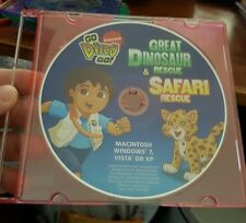 Go Diego Go - Great Dinosaur & Safari Rescue (disc only) PC GAME - FREE POST