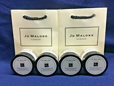 Jo Malone London Peony & Blush Suede Body Creme 0.5 FL.OZ 4 units & 2 Gift Bags