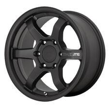 """Motegi MR150 Trailite 16x8 6x5.5"""" +0mm Satin Black Wheel Rim 16"""" Inch"""
