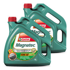 Castrol Magnatec 10w40 Diesel Petrol Part Synthetic Car Engine Oil 4L + 4L = 8 L