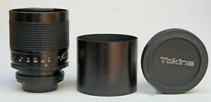 TOKINA 500mm f8 MIRROR TELEPHOTO LENS, CANON FD MANUAL FOCUS FIT