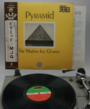 LP MODERN JAZZ QUARTET Pyramid P-6058A ATLANTIC JAPAN Vinyl OBI