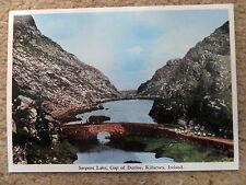 POSTCARD.SERPENT LAKE,GAP OF DUNLOE,KILLARNEY, IRELAND. MAC SERIES.NOT POSTED,