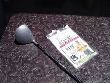 Left-Handed Medicus 10.5* Double Hinge Drivter w Mark O'Meara Dvd Video