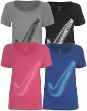 ✅ NIKE Swoosh Logo Damen T-Shirt Oberteil Top Fitnessshirt Laufshirt JDI NEU