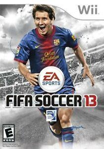 FIFA Soccer 13 - Nintendo  Wii Game