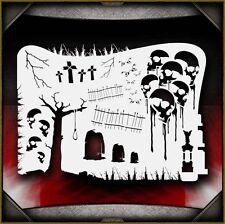 Boneyard 2 Airbrush Stencil Template Airsick