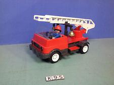 (K95) playmobil camion pompier vintage de 1976 ref 3236