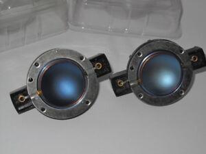 Electro-Voice 81514XX FM1202 FM1502 DH2010A  x 2  Replacement Tweeter Diaphragms