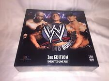 WWE DVD Board Game 3rd Edition Brand New Sealed John Cena