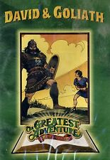 BRAND NEW DVD // DAVID AND GOLIATH // STORIES FROM THE BIBLE// GREATEST ADVENTUR