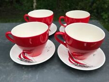 Unboxed Cups & Saucers Date-Lined Ceramics (1940s & 1950s)