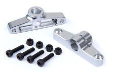 CNC metal Rear Body Fixer silver for 1/5 scale hpi km RV baja 5t rc car parts