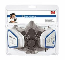 3M Respirator Mask for Paint Spray, Dust and Pesticides with filters Medium