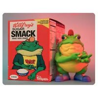 Drug Em Killfrog Sugar Smack Bullfrog 8 Vinyl Figure - Ron English Cereal Killer