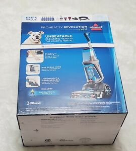 BISSELL ProHeat 2X Revolution Pet Pro Full-Size Carpet Cleaner NIB