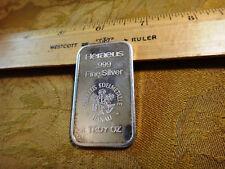 1 Ounce Silver Bar - Heraeus Edelmetalle Hanau - Free S&H USA