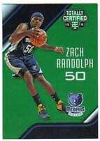 2015-16 Panini Totally Certified Mirror Green /5 #146 Zach Randolph Grizzlies