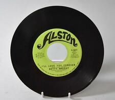 "FUNK SOUL 45RPM BETTY WRIGHT ""CLEAN UP WOMAN"" & ""I'LL LOVE YOU FOREVER"" ALSTON"