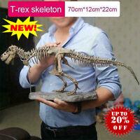 T Rex Tyrannosaurus Rex Skeleton Dinosaur Animal Collector Decor Model Toys