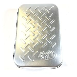 Mad Catz Silver Metal Case for Nintendo Game Boy Advance SP and Games