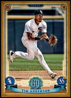Tim Anderson 2019 Topps Gypsy Queen 5x7 Gold #125 /10 White Sox