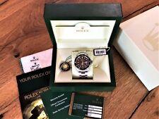 Rolex Submariner Stahl Uhr Box & Papiere 2008 Ref. 16610