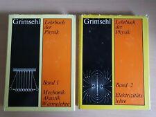 Grimsehl Lehrbuch der Physik: Band 1 und 2