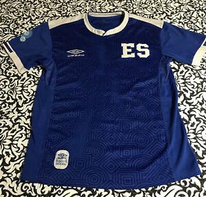 Umbro El Salvador Home Jersey  Camiseta De El Salvador Size Large Only