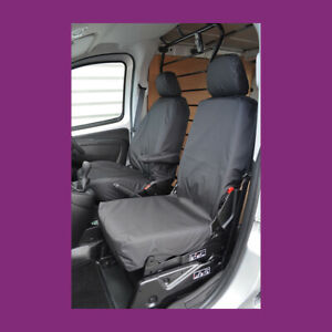 Peugeot Bipper 2008+ Black Tailored Waterproof Front Pair (Folding) Seat Covers