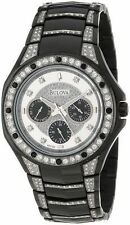Bulova Crystal Collection Men's 98C102 Quartz Black 43.5mm Bracelet Watch