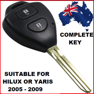 Remote Car Key Suitable for Toyota Hilux or Yaris 2005 2006 2007 2008 2009  4D67