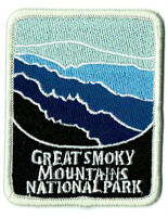 ⫸ Great Smoky Mountains National Park Embroidered Patch TN NC – New in Bag