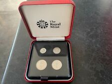 More details for 2008 silver maundy money coin set silver very rare